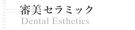 審美歯科 | Dental Esthetics